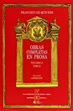 Portada de OBRAS COMPLETAS EN PROSA (VOL. II) (T. II)