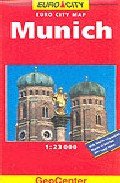 Portada de EURO CITY MAP: MUNICH