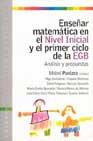Portada de ENSEÑAR MATEMATICA EN EL NIVEL INICIAL Y EL PRIMER CICLO DE LA EGB: ANALISIS Y PROPUESTAS