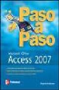 Portada de ACCESS 2007 PASO A PASO