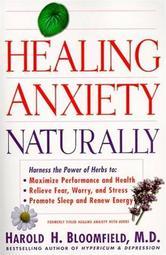 Portada de HEALING ANXIETY NATURALLY
