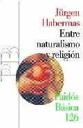 Portada de ENTRE NATURALISMO Y RELIGION