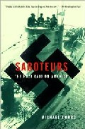 Portada de SABOTEURS: THE NAZI RAID OF AMERICA