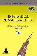 Portada de ENFERMEROS DE SALUD MENTAL DEL SERVICIO GALLEGO DE SALUD  TEMARIOPARTE ESPECIFICA. VOLUMEN II