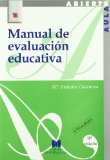Portada de MANUAL DE EVALUACION EDUCATIVA