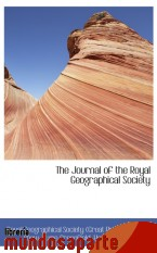 Portada de THE JOURNAL OF THE ROYAL GEOGRAPHICAL SOCIETY