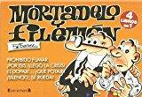 Portada de MORTADELO Y FILEMON (4 LIBROS EN 1 (CONTIENE: PROHIBIDO FUMAR; ¡POR ISIS, LLEGO LA CRISIS!; EL DOPAJE ¡QUE POTAJE!; ¡SILENCIO, SE RUEDA!) (COLECCION LIBRINOS)