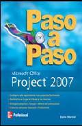 Portada de PROJECT 2007 PASO A PASO