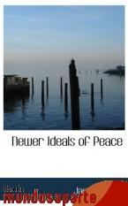 Portada de NEWER IDEALS OF PEACE