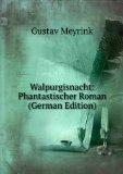 Portada de WALPURGISNACHT: PHANTASTISCHER ROMAN (GERMAN EDITION)