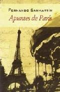 Portada de APUNTES DE PARIS