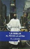 Portada de LA BIBLIA AL PIE DE LA LETRA