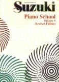Portada de SUZUKI PIANO SCHOOL, VOL 6: REVISED EDITION (SUZUKI METHOD CORE MATERIALS)