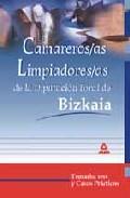 Portada de CAMAREROS/AS-LIMPIADORES/AS DE LA DIPUTACION FORAL DE BIZKAIA: TEMARIO, TEST Y CASOS PRACTICOS