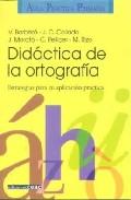 Portada de DIDACTICA DE LA ORTOGRAFIA