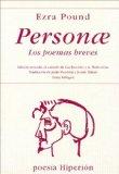 Portada de PERSONAE: LOS POEMAS BREVES
