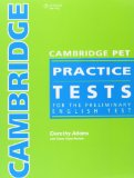 Portada de CAMB PET PRACTICE TESTS BK & ANS KEY AUD