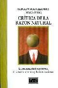 Portada de CRITICA DE LA RAZON NATURAL. LA MENTALIDAD MODERNA, EL SENTIDO COMUN Y LO INCONSCIENTE
