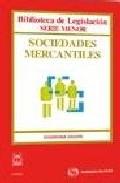 Portada de SOCIEDADES MERCANTILES