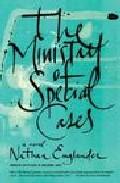 Portada de THE MINISTRY OF SPECIAL CASES