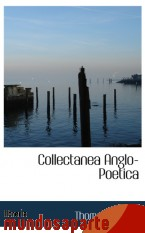 Portada de COLLECTANEA ANGLO-POETICA