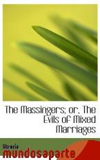 Portada de THE MASSINGERS; OR, THE EVILS OF MIXED MARRIAGES