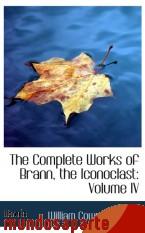 Portada de THE COMPLETE WORKS OF BRANN, THE ICONOCLAST: VOLUME IV