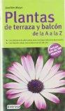 Portada de PLANTAS DE TERRAZA Y BALCON DE LA A A LA Z