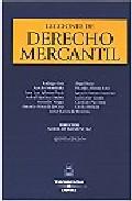 Portada de LECCIONES DE DERECHO MERCANTIL