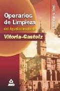 Portada de TEMARIO Y TEST OPERARIOS DE LIMPIEZA DEL AYUNTAMIENTO DE VITORIA-GASTEIZ