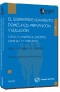 Portada de EL SOBREENDEUDAMIENTO DOMESTICO: PREVENCION Y SOLUCION