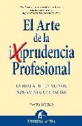Portada de EL ARTE DE LA PRUDENCIA PROFESIONAL