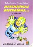 Portada de MATEMATICAS DISTRAIDAS 4º PRIMARIA