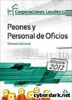 Portada de PEONES Y PERSONAL  DE OFICIOS DE CORPORACIONES LOCALES. TEMARIO GENERAL - EBOOK