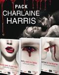 Portada de PACK CHARLAINE HARRIS: MUERTE HASTA EL ANOCHECER, VIVIR Y MORIR EN DALLAS, EL CLUB DE LOS MUERTOS