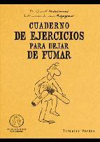 Portada de CUADERNO DE EJERCICIOS PARA DEJAR DE FUMAR