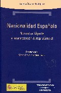 Portada de NACIONALIDAD ESPAÑOLA