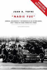 Portada de NADIE FUE - EBOOK