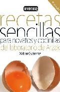 Portada de RECETAS SENCILLAS PARA NOVATOS Y COCINILLAS