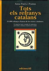 Portada de TOTS ELS REFRANYS CATALANS - EBOOK