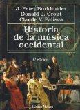 Portada de HISTORIA DE LA MUSICA OCCIDENTAL