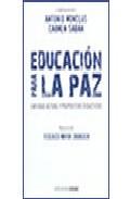 Portada de EDUCACION PARA LA PAZ
