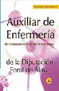 Portada de AUXILIAR DE ENFERMERIA DEL INSTITUTO FORAL DE BIENESTAR SOCIAL DELA DIPUTACION FORAL DE ALAVA: TEMARIO