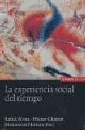 Portada de LA EXPERIENCIA SOCIAL DEL TIEMPO