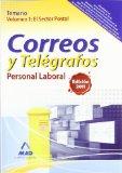 Portada de PERSONAL LABORAL DE CORREOS Y TELEGRAFOS. TEMARIO. VOLUMEN I: EL SECTOR POSTAL