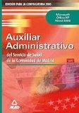 Portada de AUXILIARES ADMINISTRATIVOS DEL SERVICIO DE SALUD DE LA COMUNIDAD DE MADRID: TEST