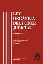 Portada de LEY ORGANICA DEL PODER JUDICIAL. COMENTARIOS Y JURISPRUDENCIA (9ªED)