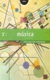 Portada de MÚSICA 3º ESO. LIBRO GUÍA DEL PROFESORADO. CONTIENE TRES CD