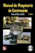 Portada de MANUAL DE MAQUINARIA DE CONSTRUCCION