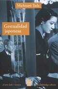 Portada de GESTUALIDAD JAPONESA